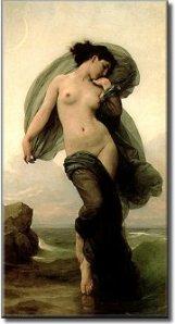 Nyx, the greek goddess of the night