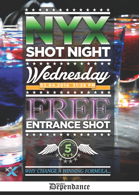 Flyer shotnight 2014